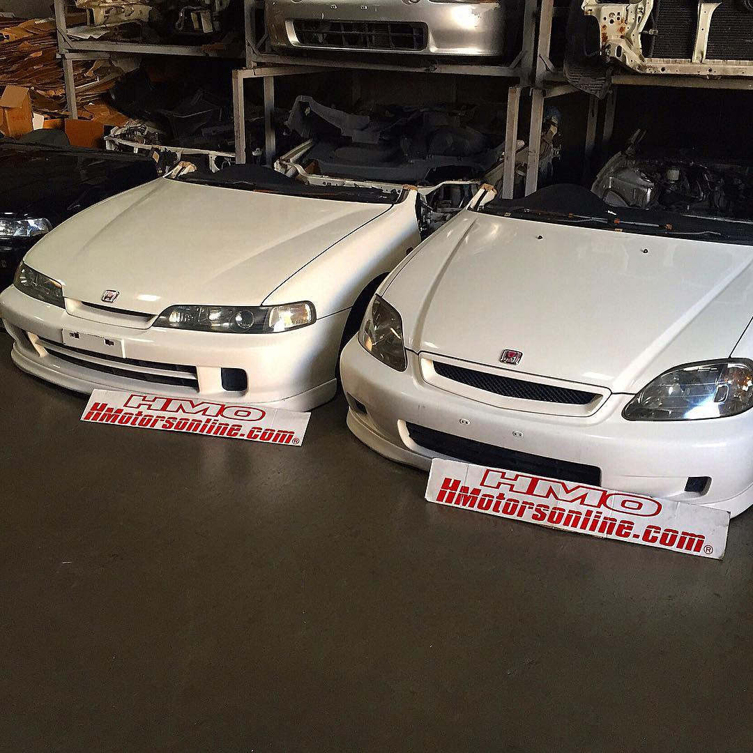 98 Spec Dc2 And 2000 Spec Ek9 Type R Right Hand Drive And