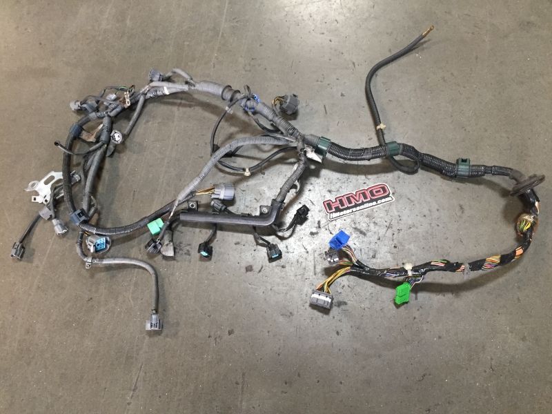 EK9 96-98 Right Hand Drive Uncut Engine Harness (OBD2A) on