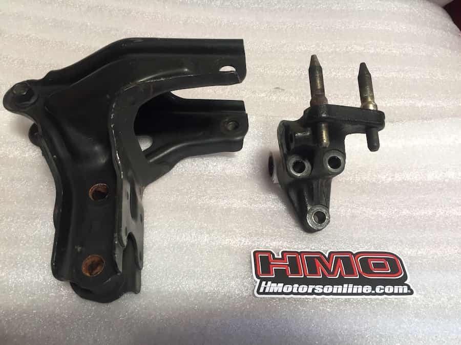 99 00 Honda Civic Si Em1 Rear T Bracket Amp Post Mount