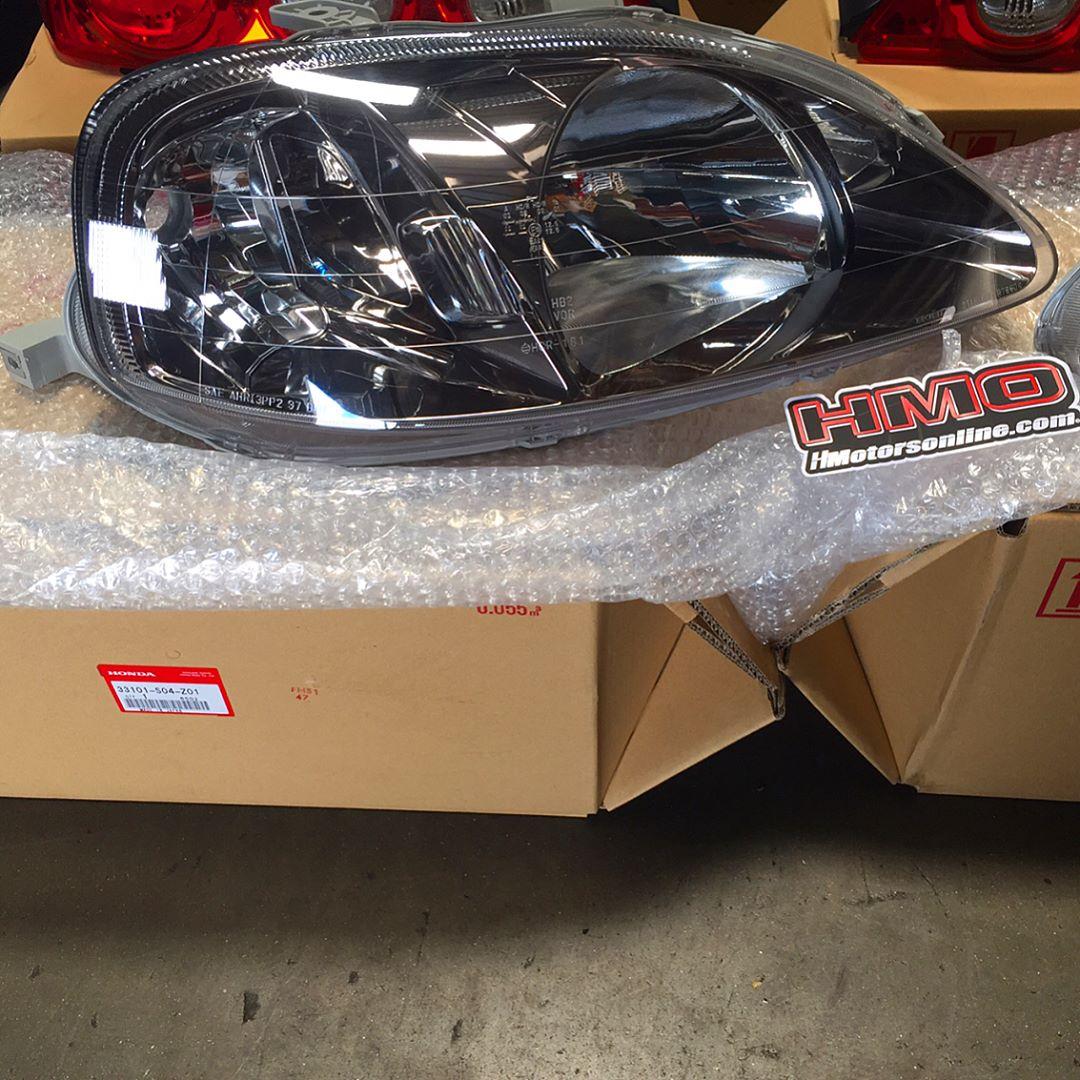 99 00 Brand New Oem Civic Type R Head Lights Hmotorsonline