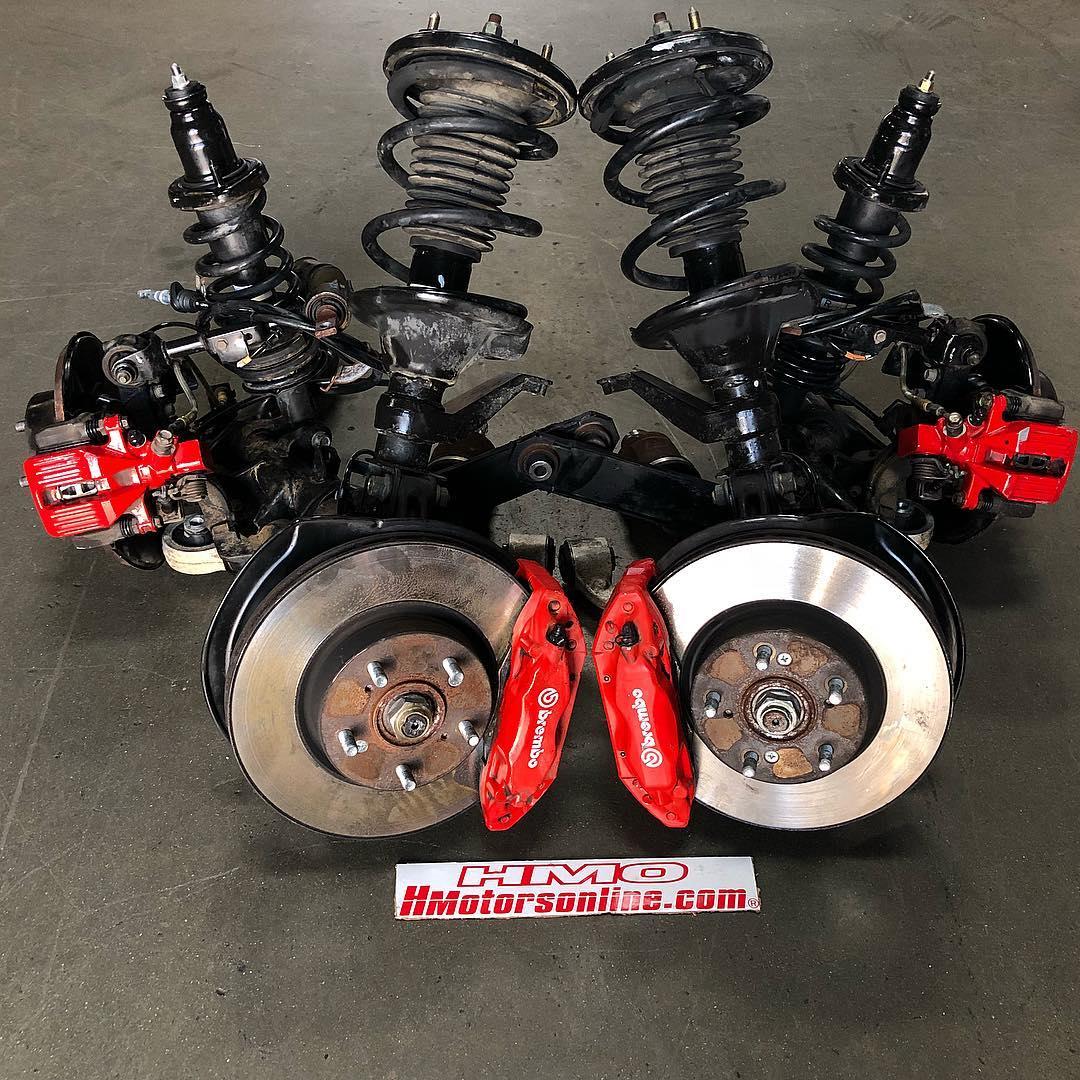 RSX/DC5 Integra Type R Front Brembo Brakes & Rear Brake Conversion