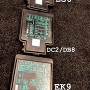 eg6, dc2/db8, ek9 jdm green text fuse box covers